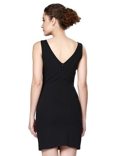Pierre Cardin Kısa Kalem Elbise Siyah